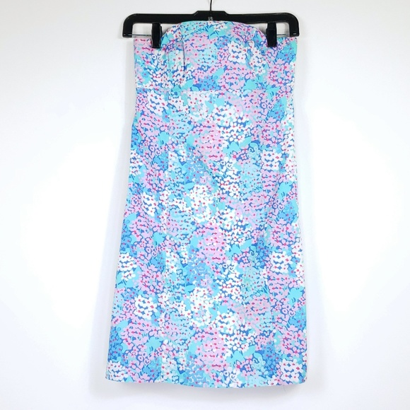Lilly Pulitzer Dresses & Skirts - Lilly pulitzer tie back strapless dress sz00